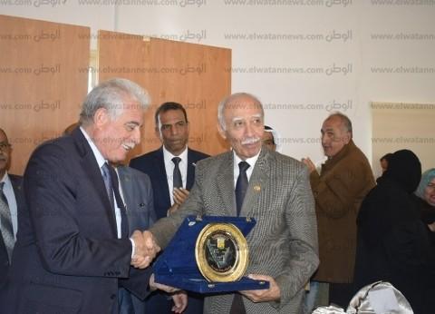 محافظ جنوب سيناء يكرم مفيد شهاب وناجي شهود في احتفالات عودة طابا