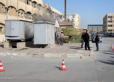 626 شاحنة تغادر ميناء دمياط