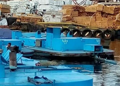 النقل النهري: تطهير المجرى الملاحي ببورسعيد استعدادا للأتوبيس المقترح
