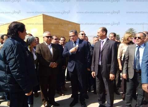 وزير الآثار: الانتهاء من هرم الملك زوسر المدرج نهاية العام الجاري