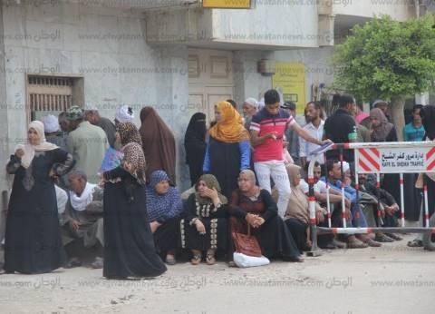 7 حالات إغماء لطلاب الثانوية العامة في كفر الشيخ