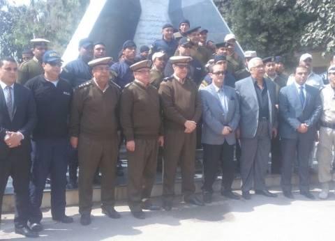 بالصور| مساعد وزير الداخلية لوسط الصعيد يشهد تدريبا لقوات أمن أسيوط