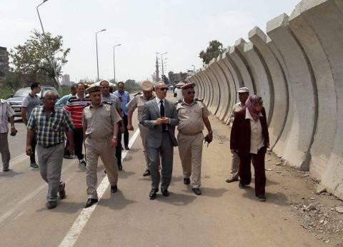 مدير أمن القليوبية يعيد فتح طريق المديرية ببنها استجابة للمواطنين