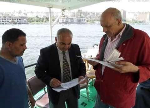 """""""النقل النهري"""": مشروع القناطر الجديدة يسهم في زيادة المنقول عبر النيل"""