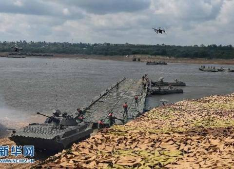بالصور  الصين تحصد المركز الثاني بمسابقة الألعاب العسكرية الروسية