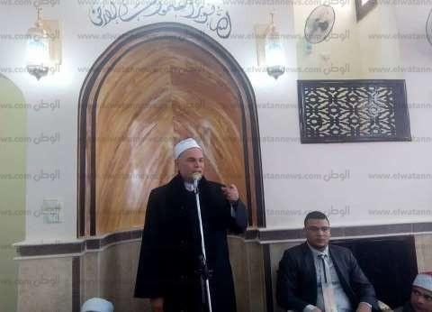 """وكيل """"أوقاف الشرقية"""" يفتتح مسجد السيدة خديجة بالقرين"""