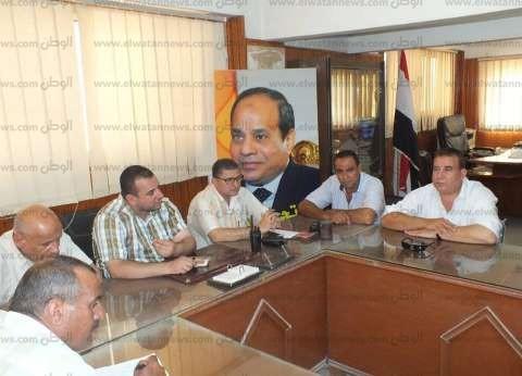 بالصور| رئيس مدينة الرياض بكفر الشيخ يترأس اجتماع المجلس التنفيذي