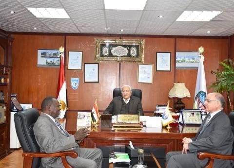 رئيس جامعة مدينة السادات: نتواصل مع الطلاب الأفارقة بعد تخرجهم