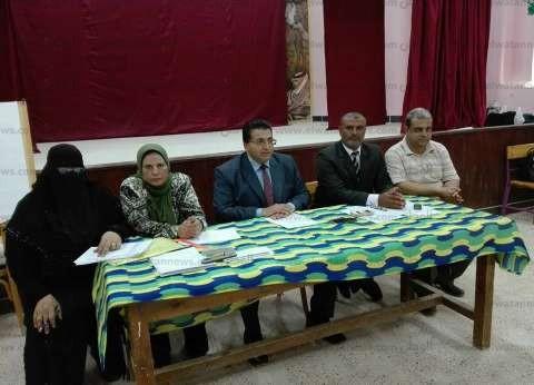 بالصور| انتخابات المكتب التنفيذي لمجلس اتحاد الطلاب بتعليم بجنوب سيناء