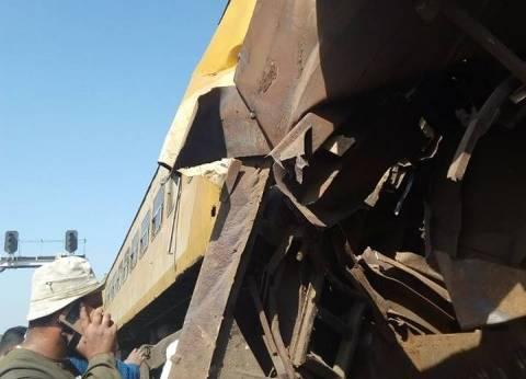 """السكة الحديد: تحويل خط """"المناشي"""" لحين رفع آثار حادث قطاري البحيرة"""