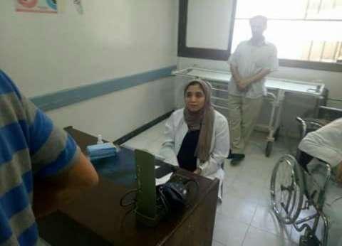 """بالصور  """"صحة دمياط"""" تفتش مستشفى السرو المركزي في العيد القومي للمحافظة"""