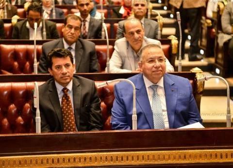 """بالصور  وكيل النواب يشيد ببرلمان الطلائع: علامة بارزة من أعمال """"وزارة الشباب"""""""