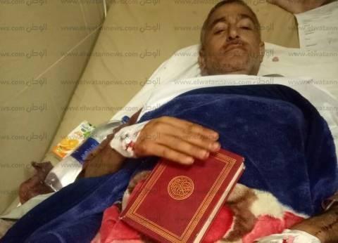 """""""سالم"""" يروي 15 دقيقة رعب في """"مسجد الروضة"""": نجوت من الموت بمصحفي"""