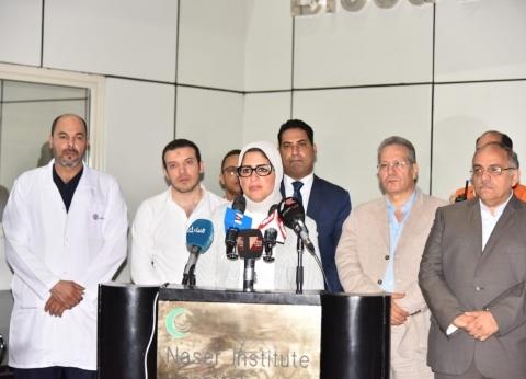 عاجل.. الصحة: ارتفاع ضحايا حادث الانفجار بمحيط معهد الأورام إلى 19