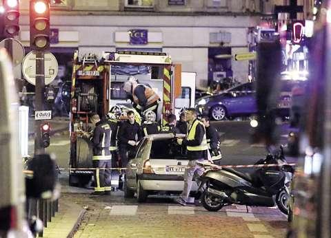 عاجل| تدخل هليوكوبتر لمساعدة الشرطة الفرنسية في اشتباكها مع مسلحين