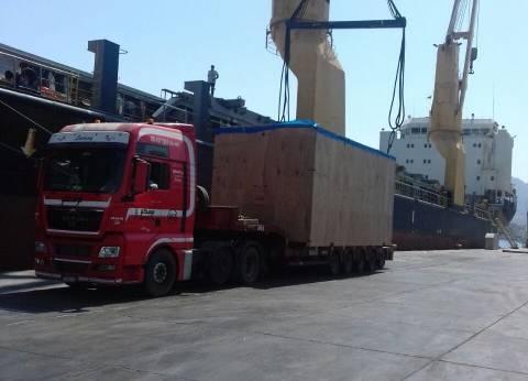 وصول وسفر 2325 راكبا بموانىء البحر الأحمر وتداول 372 شاحنة