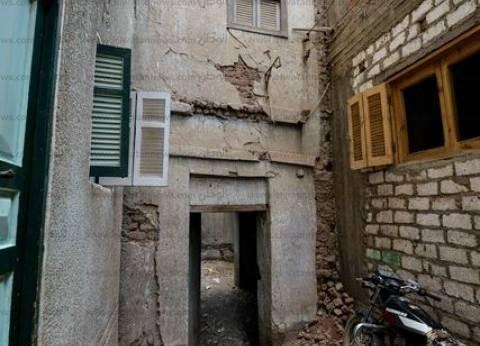 4 عصور لم تنقذ منزل «عبدالناصر» فى «بنى مر» من الإهمال