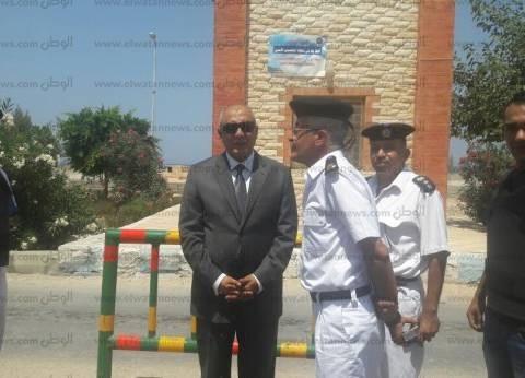 """ضبط سائق مطلوب بقضية مخدرات في كمين بطريق """"مطروح - إسكندرية"""""""