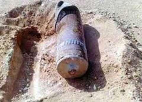 العثور على دانة من مخلفات الحرب في شرم الشيخ