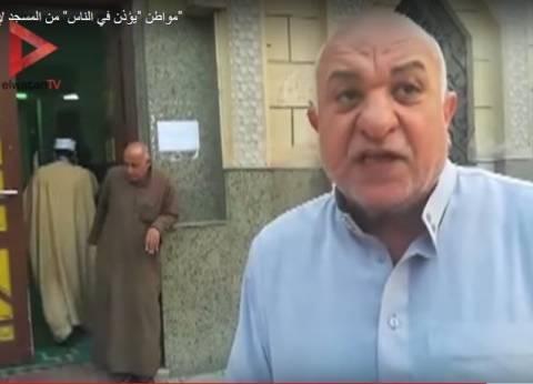 """إمام مسجد حلوان """"يكذب"""".. لم يؤذن في الناس لحماية الكنيسة وادعى البطولة"""