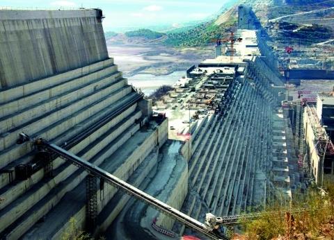 """مسؤول إثيوبي: نسبة البناء في """"سد النهضة"""" بلغت 66%"""