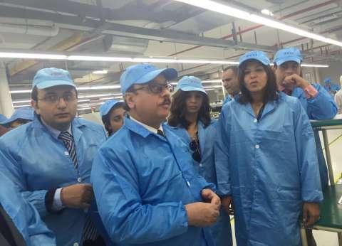 رئيس ايتيدا تلتقي محافظ الاسكندرية
