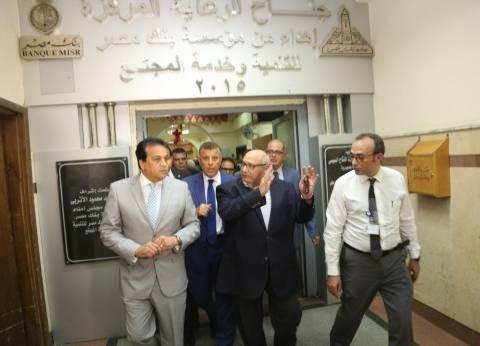وزير التعليم العالي يتفقد مستشفيات جامعة عين شمس