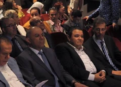 بالصور| خالد جلال يفتتح ملتقى فنون الدمى وخيال الظل بالهناجر
