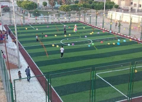 """""""الشباب والرياضة"""" بجنوب سيناء: إنشاء 18 ملعبا خماسيا بـ7 ملايين جنيه"""