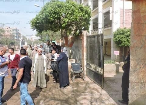 بالصور| زحام أمام لجان الانتخابات بالحامول في كفر الشيخ