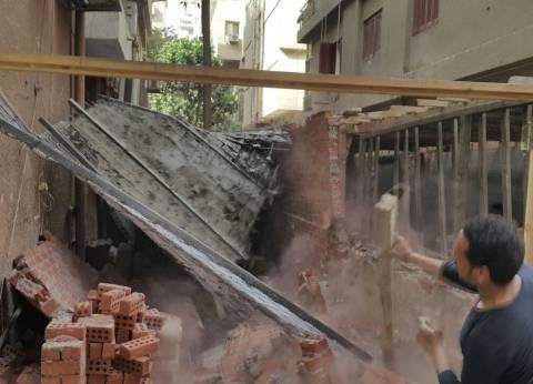 بالصور| إزالة مخالفات مباني في المهد بالعجوزة