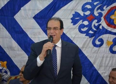 محافظ الدقهلية: شعب مصر وقف بجانب جيشه الآن كما فعل في ثورة يوليو