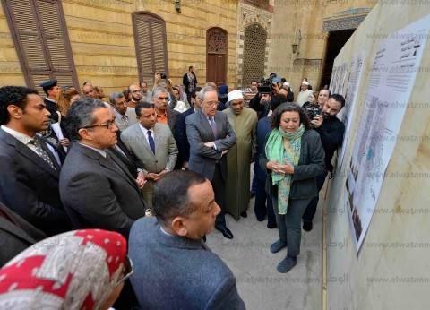 بالصور| تفاصيل كشف مسجد الإمام الشافعي وخطوات ترميمه