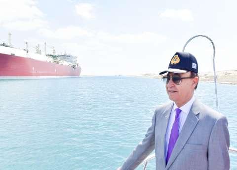 مميش: قناة السويس تسجل رقما قياسيا في أعداد السفن العابرة خلال 3 أيام
