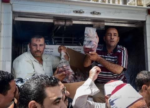 """""""أورمان المنوفية"""" توزع لحوم على 3750 أسرة بكافة قرى ومراكز المحافظة"""