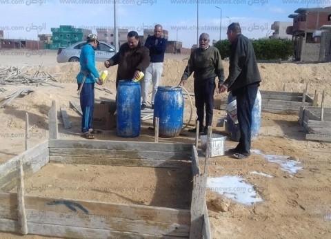 """""""زراعة جنوب سيناء"""": حظر إقامة المباني قبل وقايتها من """"النمل الأبيض"""""""