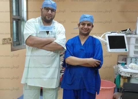 بالصور| نجاح أول جراحة تجميل لطفلة بمستشفى طور سيناء العام