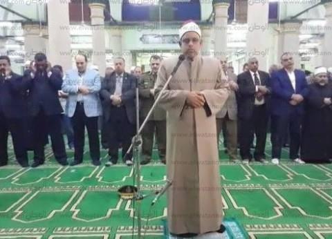مساجد أسيوط تؤدي صلاة الغائب على شهداء سيناء