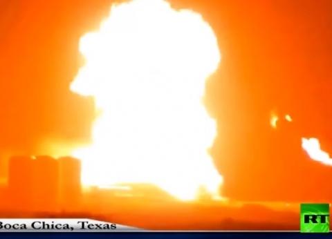 """فيديو.. لحظة اندلاع حريق على متن مركبة فضائية تابعة لـ""""SpaceX"""""""