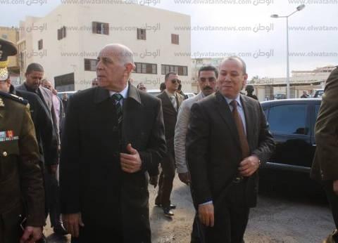 بالصور| محافظ دمياط يفتتح  مكتب السجل المدني بقسم ثان