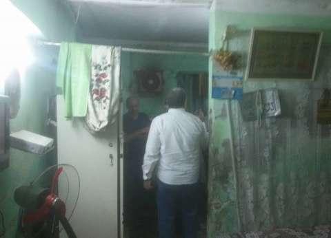 مصرع سيدة وإصابة 3 أطفال في انهيار سقف غرفة منزل بالفيوم