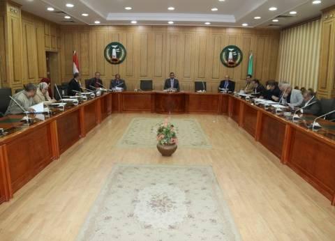 المنوفية تعقد اجتماع اللجنة العليا للمشروعات الاقتصادية والاستثمارية