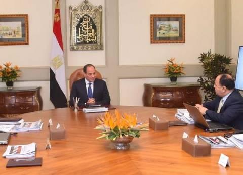 السيسي يوجه وزير المالية بالعمل على خفض الدين العام