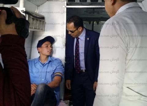 رئيس جامعة دمنهور يفتتح حملة التبرع بالدم للمجهود الحربي في سيناء
