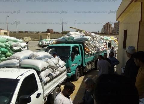 """وكيل """"تموين كفر الشيخ"""" يتابع لجان استلام القمح في الشون والصوامع"""