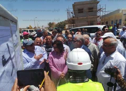 بالصور| دمج المرحلتين الأولي والثانية لتطوير ميناء الصيد في طور سيناء
