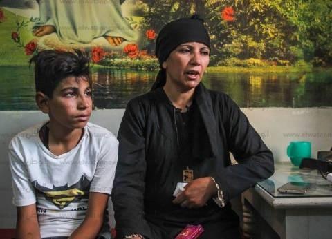 10 مشاهد فى رحلة الموت للطفلين «ماركو» و«مينا»: «الإرهابيين قتلوا أبونا قدام عينينا»