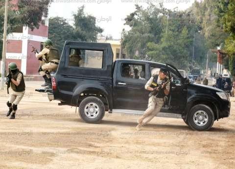 مقتل تاجر مخدرات وإصابة أمين شرطة في تبادل إطلاق نار بسوهاج