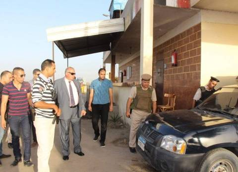 مدير أمن دمياط يتفقد الأكمنة الحدودية لمواجهة العناصر الإرهابية
