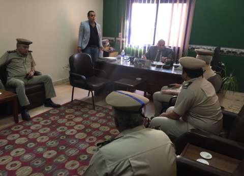 مديرأمن القليوبيةيتفقد قسم بنها ثاني